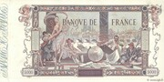 5000 Francs (Flameng, type 1918) -  reverse