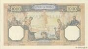 1000 francs Cérès et Mercure (type 1927 modifié) -  reverse