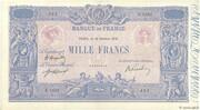 1000 francs Bleu et rose (type 1889) -  obverse