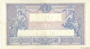 1000 francs Bleu et rose (type 1889) -  reverse