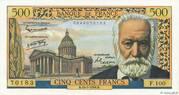 500 francs Victor Hugo (type 1953) – obverse