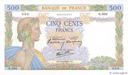 500 francs La Paix (type 1939) -  obverse