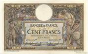 100 francs Luc Olivier Merson (type 1906 sans LOM) – obverse