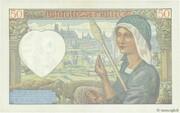50 francs Jacques Coeur (type 1941) – reverse