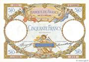 50 francs Luc Olivier Merson (type 1927 modifié) – obverse