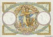 50 francs Luc Olivier Merson (type 1927) – reverse