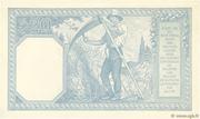 20 francs Bayard (type 1916) – reverse