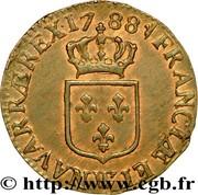 ½ Sol of an Ecu - Louis XVI -  obverse