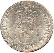 ½ Écu - Louis XV -  reverse