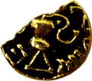 Trien ou sou d'or (mérovingienne V-VIème siècle) – reverse