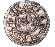 Denier - Charles II the Bald (Rennes) -  obverse