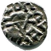 Denier mérovingien ( VIème VIII ème siécle) – obverse