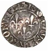 Double Tournois - Charles VI – obverse