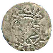 Denier  de Robert II Le pieu (996 - 1031) – obverse