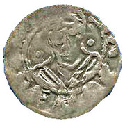Denier  de Robert II Le pieu (996 - 1031) – reverse