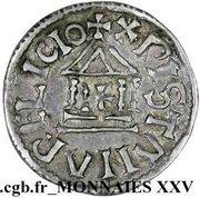 Denier - Louis I the Pious (Christian legend) – reverse