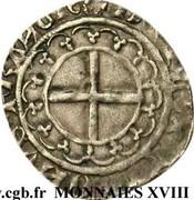 Double Tournois - Charles VII – reverse