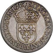 1 Écu - Louis XIV -  obverse