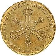 6 Deniers - Louis XIV -  obverse