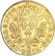 1 Louis d'Or - Louis XVI – reverse
