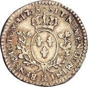 1/20 Ecu - Louis XV -  obverse
