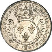1 Ecu - Louis XIV – reverse