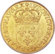 1 Écu d'Or - Louis XIII -  obverse