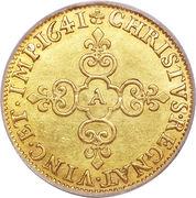 1 Écu d'Or - Louis XIII -  reverse