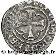 Double Tournois - François I (1st type) – reverse
