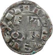 Denier - Philippe II (2nd type) – obverse