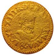 Denier Tournois - Louis XIII (Aix; 1st type) – obverse