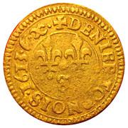 Denier Tournois - Louis XIII (Aix; 1st type) – reverse