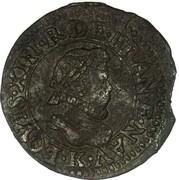 Denier Tournois - Louis XIII (Bordeaux; 1st type) – obverse