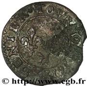Denier Tournois - Louis XIII (Bordeaux; 1st type) – reverse