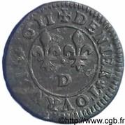 Denier Tournois - Louis XIII (Lyon; 1st type) – reverse