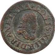 Denier Tournois - Louis XIII (Lyon; 2nd type) – obverse
