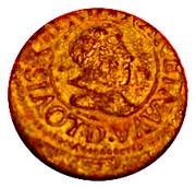 Denier Tournois - Louis XIII (Lyon mint; 4th type) – obverse