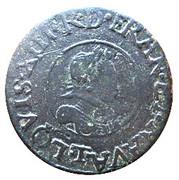 Denier Tournois - Louis XIII (Nantes; 2nd type) – obverse