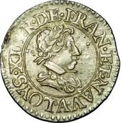 Denier Tournois - Louis XIII (Paris; 2nd type) – obverse