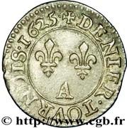 Denier Tournois - Louis XIII (Paris; 2nd type) – reverse