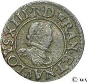 Denier Tournois - Louis XIII (Poitiers; 1st type) – obverse