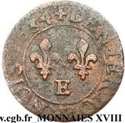 Denier Tournois - Louis XIII (Tours mint) – reverse
