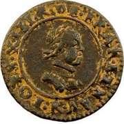 Denier Tournois - Louis XIII (Villeneuve; 1st type) – obverse