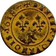 Denier Tournois - Louis XIII (Villeneuve; 1st type) – reverse