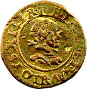 Denier Tournois - Louis XIII (Villeneuve; 2nd type) – obverse