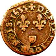 Denier Tournois - Louis XIII (Navarre/Saint-Palais mint) – reverse