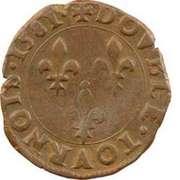 Double Tournois - Henri III (Angers mint) – reverse
