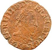 Double Tournois - Henri III (Bordeaux mint; 2nd type) – obverse