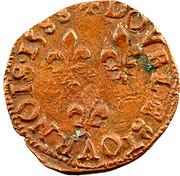 Double Tournois - Henri III (Bordeaux mint; 2nd type) – reverse