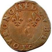 Double Tournois - Henri III (Bourges mint) – reverse
